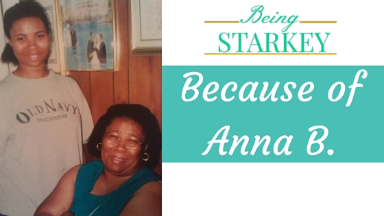Because of Anna B.